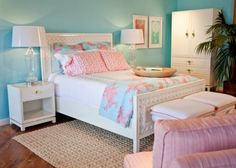 Lilly Room! I love the ocean blue, the open feel