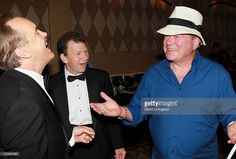 Actors Jeffrey Combs, Max Grodenchik and William Shatner attend Day 2 of the Official Star Trek Convention at the Rio Las Vegas Hotel & Casino on August 12, 2011 in Las Vegas, Nevada.