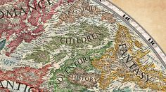 """""""It took me about three weeks to design and draw the Map of Literature, however I often worked more than 15 hours a day on it."""" 