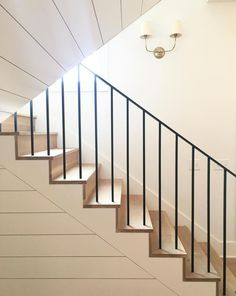 New Staircase Design Ideas - Annette Home Staircase Molding, Stairs Trim, New Staircase, Metal Stairs, Staircase Remodel, Staircase Railings, Modern Stairs, Staircase Design, Stair Design