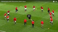 Rozgrzewka przedmeczowa Manchesteru United • Przykładowe ćwiczenia piłkarskie przed meczem • Rozgrzewka największych gwiazd piłki nożnej #rozgrzewka #pilkanozna #futbol #sport #trening #manutd #manchesterunited