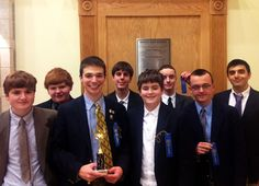 Several students were recognized this past Saturday at a state-wide speech and debate tournament at Natick High School. Liam LeBlanc '15, Peter Andreas '15, Matt Peterson '13, Pat Ingersoll '13, and Stephen Cook '15 were all recognized for outstanding achievement, and Matt Peterson placed second in the finals of the group discussion event.