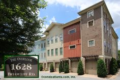 The Overlook is a small enclave community of townhome-style condominiums with a unique architectural style and garage parking located near the Emory University campus with easy access to Downtown Decatur and Virginia Highland!  http://condoatlanta.com/TheOverlook.html  Ready to sell your current home or find your new home? Call on us!  CONDOATLANTA.com is a full service real estate brokerage working with buyers and sellers across Greater Metropolitan Atlanta!   We're here to help and look…