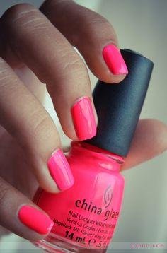 POOLSIDE PARTY--CHINA GLAZE!!! Love this nail polish!