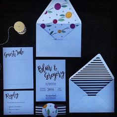 A fun little layout. Can't wait to start finding cute ribbons to add to my invite collection. It adds such a cute touch. #reneelynnweddinginvitations #reneelynndesigns #wedding #modernwedding #imsoready