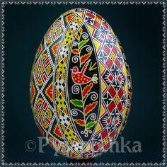 Real Ukrainian Pysanky. Goose Pysanka. Hand made Hutsul Easter Eggs in Collectibles | eBay