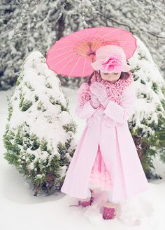 Pretty in pink snow princess Pretty In Pink, Pink Love, Perfect Pink, I Believe In Pink, Tout Rose, Rosa Pink, Look Girl, Under My Umbrella, Pink Umbrella