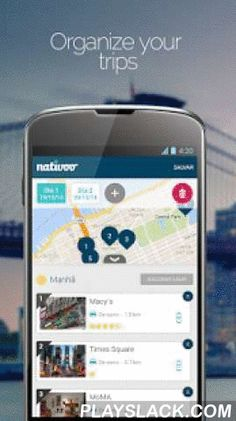 Nativoo Travel Guide  Android App - playslack.com ,  The Nativoo Travel Guide - Creates custom itineraries based on your preferences! The guide calculates the best routes, suggests places for you to visit, considers schedules of places, helps you to find hotels, hotel, metro, carnival, tourism, getaways, weather, museums, food, restaurants, nightlife, maps, and cafe. Explore as if you were a local!Features:★ The Nativoo Travel Guide creates itineraries for your trips in seconds, based on…