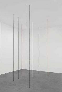 Fred Sandback, Untitled (Eight-part Vertical Construction), 1992