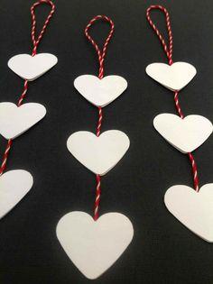 Arrow Necklace, Diys, Ornament, Red, Jewelry, Xmas, Creative, Dekoration, Decor