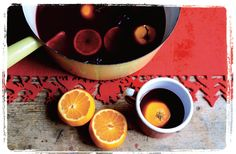 Don't forget the Mulled Wine this Christmas. This recipe from Ms Marmite Lover's Secret Tea Party uses Kumquats, star anise and cinnamon sticks.