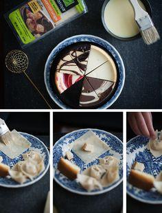 Deep fried cheesecake bites OmgDelights Pinterest Cheesecakes