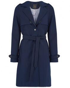 Coat, £90, Selected Femme #navy #coat #classic #style