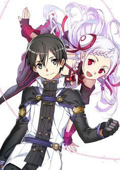 Kirito e Yuna
