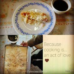 """...cozinhando para colegas de trabalho: para saudar o dia frio e ensolarado minha receita de """"rotoli"""" (rondelli no Brasil) ao molho branco. [...cooking for colleagues: to greet the cold and sunny day my recipe """" rotoli """" ( rondelli ) with white sauce.] #keepcooking #recipe #italian #gourmand #cook in #work #gastronomy #rotoli #rondelli #yerbamate #coffee #love #lunch #goodvibes #cozinhar #receita #italiana #trabalho #gastronomy #chimarrão #cafe #almoço #amor #riograndedosul #brasil versus…"""