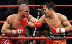Miguel Cotto knocked out by Manny Pacquiao.