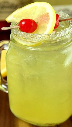 Double Lemon Drop with Ole Smoky Lemon Drop Moonshine Recipe ~ the Bomb!
