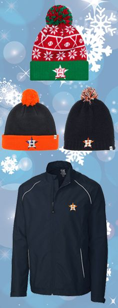 Bundle Up! Represent your Astros this winter.