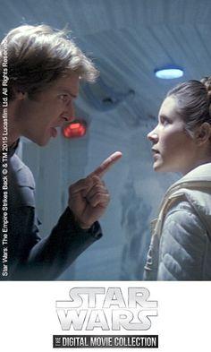 Leia: 'I'd just as soon kiss a Wookiee' Hans: 'I can arrange that'.