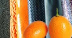 Tendances - L'été 2015 en perspective colorée - ©CUIR A PARIS Paris, Spring Summer 2015, Perspective, Orange, Fruit, Inspiration, Leather Dye, Trends, Colors