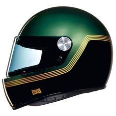 NEXX XG100R HELMET - MOTORDROME GREEN