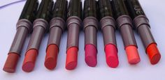 8 Oriflame The One Colour Unlimited Lipsticks