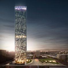 Energy Tower by Edmonds International. Follow us on Bēhance https://www.behance.net/vertex3dstudio/
