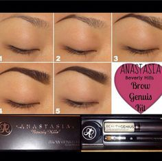 Anastasia brows ♡