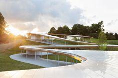 SANAAs Grace Farm in Connecticut / Flussmetapher - Architektur und Architekten - News / Meldungen / Nachrichten - BauNetz.de