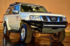 R&D finishing up a few parts for the Nissan Patrol M-RDS Front Bumper with Winch Plate RKR Rails with optional detachable steps and Aluminum Roof Rack. Nissan Patrol Y61, Roof Rack, Bar Lighting, Plate, Trucks, Twitter, Instagram Posts, Pictures, Ideas