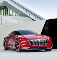 Vision Mercedes-Maybach 6 Coupe Concept - Cars and motor Mercedes Maybach, Mercedes Auto, Luxury Sports Cars, Best Luxury Cars, Sport Cars, Bugatti, Lamborghini, K Wallpaper, Latest Cars