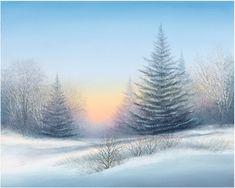 """Winter Mist"" by Arnold Alaniz"