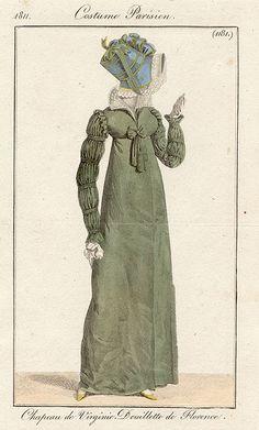 Redingote 1811. Love the sleeves!