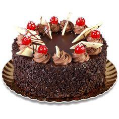 Dessert Illustration, Cake Decorating, Decorating Ideas, Jello Desserts, Fondant Cakes, Birthday Cakes, Chocolate Cake, Deserts, Pie