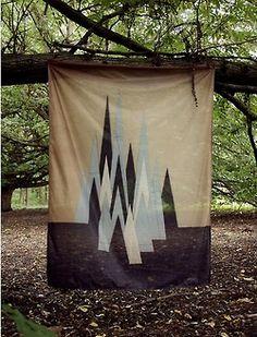 Fantastic textile // Peaks
