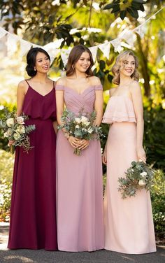 Apr 2020 - Cute but classic and ultra sophisticated, bridesmaids will love how they look and feel in this A-Line chiffon bridesmaid gown from Sorella Vita. Classic Bridesmaids Dresses, Bridesmaid Dress Colors, Wedding Bridesmaid Dresses, Raspberry Bridesmaid Dresses, Sorella Vita Bridesmaid Dresses, Modest Wedding, Wedding Colors, Wedding Styles, Bridal Gowns