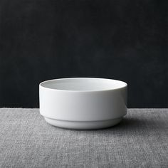Logan Stacking Bowl | Crate and Barrel
