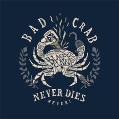 BAD CRAB by BMD Design  http://www.stepart.fr/home/343-bad-crab.html