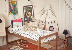 Me encanta la cama / love this bed