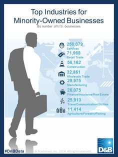 Top Industries for minority-owned businesses. Risk Management, Insight, Ethnic, Communication, Finance, Business, Top, Store, Economics