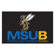 FANMATS Collegiate NCAA Montana State University Billings Doormat