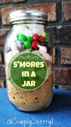 S'Mores In A Jar are not just for Christmas! These are awesome all year long!