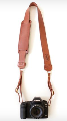 Leather camera strap...i just need a camera now!