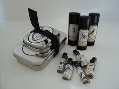 DARK AS NIGHT Artisan Perfume oils sampler 5 by SteamBathFactory, $12.95. Etsy.com