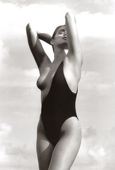 Cindy Crawford (Photography by Herb Ritts)