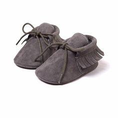 3d86266124a Zapatos Mocasines Bebe Color Gris Envio Gratis Talla 12