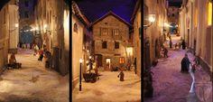 """All'interno della """"casa gotica"""" di #Arquata Scrivia sono esposti i presepi e i diorami realizzati dall'Associazione Arqua.Tor Presepi Onlus. Uno in particolare rappresenta la Via Interiore, nella parte più antica della città, e la stessa """"casa gotica"""".   http://www.vinicartasegna.it/arquata-scrivia-medioevale-casa-gotica"""