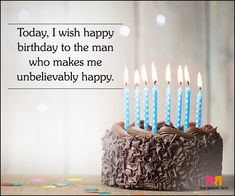 beautiful love quotes for him on his birthday – Love Kawin Happy Birthday Quotes For Him, Birthday Wish For Husband, Birthday Wishes For Boyfriend, Birthday Poems, Best Birthday Quotes, Happy Husband, Husband Birthday Message, Fiance Birthday Quotes, Bday Wishes For Husband