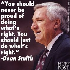 words to live by Carolina Pride, Carolina Blue, North Carolina, Carolina Girls, Dean Smith, True Quotes, Qoutes, Unc Chapel Hill, Sports Therapy