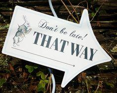 Alice im Wunderland signiert This Way die Way von partystarking